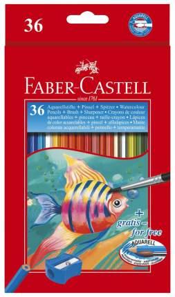 Акварельные карандаши Faber-Castell Рыбки, 36 шт