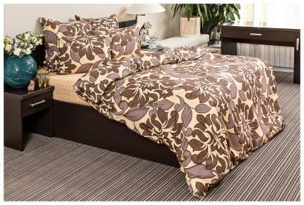 Комплект постельного белья Ночь Нежна Королева 7121+7122 Полутораспальный