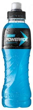 Напиток негазированный ледяная буря Powerade пластик 0.5 л