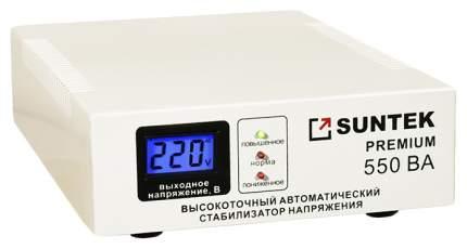 Стабилизатор напряжения электромеханического типа SUNTEK 550ВА-эм premium