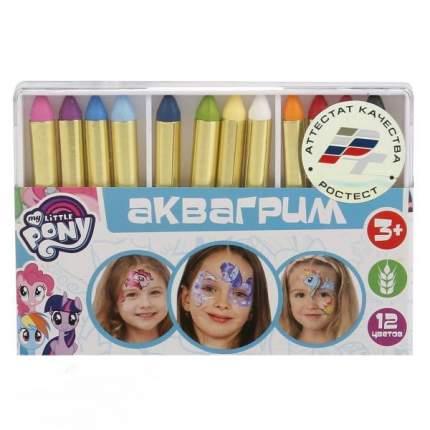 Аквагрим MultiArt My Little Pony 12 цветов, карандаши