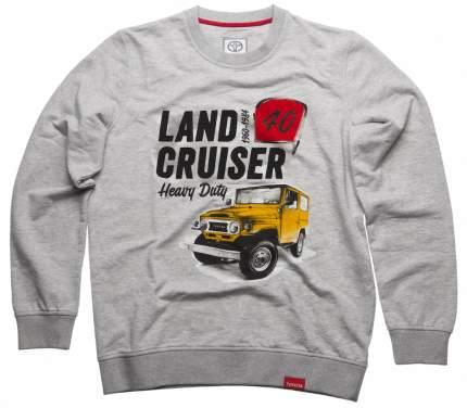 Мужская толстовка Toyota Land Cruiser 40 TMHRTSCM02S Grey