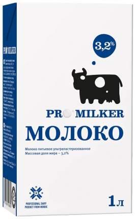 Молоко Promilker питьевое ультрапастеризованное 3.2% 1 л