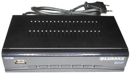 DVB-T2 приставка Lumax DV3206HD Black