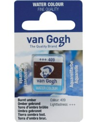 Акварельная краска Royal Talens Van Gogh №409 умбра жженая 10 мл