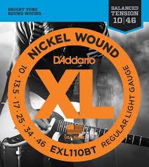 Струны для электрогитары D ADDARIO EXL110 BT