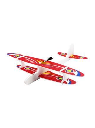 Самолет Kids Choice с моторчиком красный 27 см
