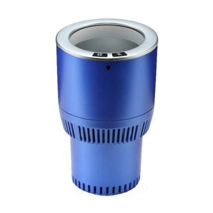 Термоподстаканник для подогрева и охлаждения напитков в авто Paltier,сине-серебристый