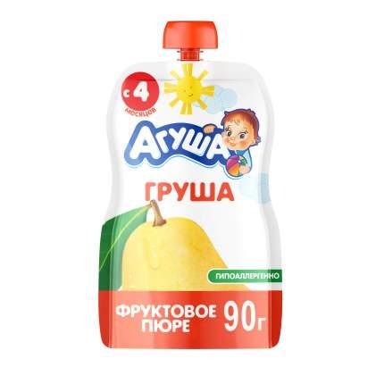 Пюре фруктовое Агуша Груша с 4 мес. 90 г