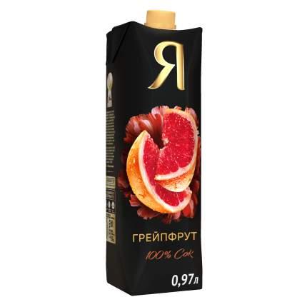 Сок грейпфрут Я с мякотью 0.97 л