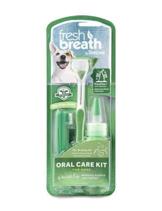 Набор для ухода за зубами для собак TropiClean Свежее дыхание, 111 г