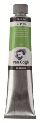 Масляная краска Royal Talens Van Gogh №614 зеленый средний устойчивый 200 мл