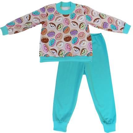 Пижама детская Папитто Пончики р.98 арт.15872-01