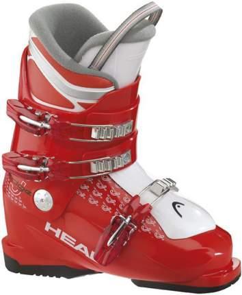 Горнолыжные ботинки Head Edge J3 2015, red/white, 25