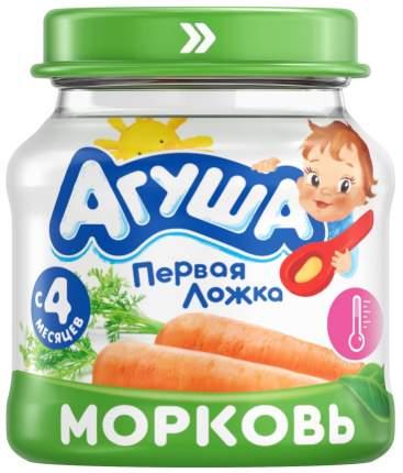 Пюре Агуша Морковь с 4 мес. 80 г