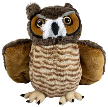 """Мягкая игрушка """"Большая рогатая сова"""", 37 см Wild Republic"""