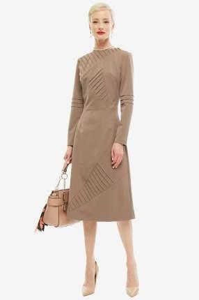 Платье женское OLGA SKAZKINA 180211 коричневое 40 RU