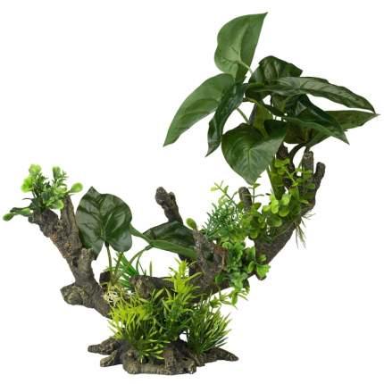 Искусственное растение для аквариума AQUA DELLA Florascape 2, 23,5х15х28 см