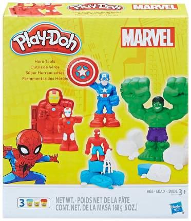 Игровой набор Play-Doh Hasbro Герои Марвел E0375