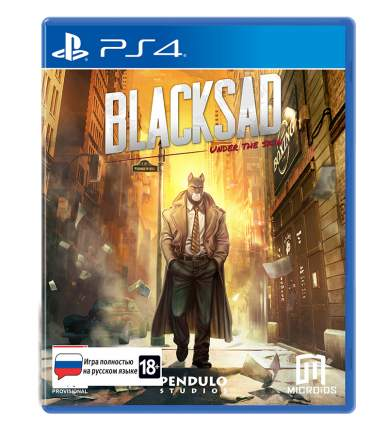 Игра для PlayStation 4 Blacksad: Under The Skin. Limited Edition