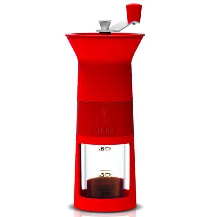 Кофемолка ручная Bialetti MACINA CAFFE, цвет красный