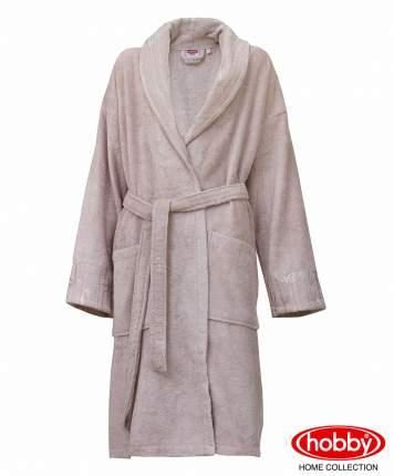 Банный халат HOBBY home collection Aundria пудровый M