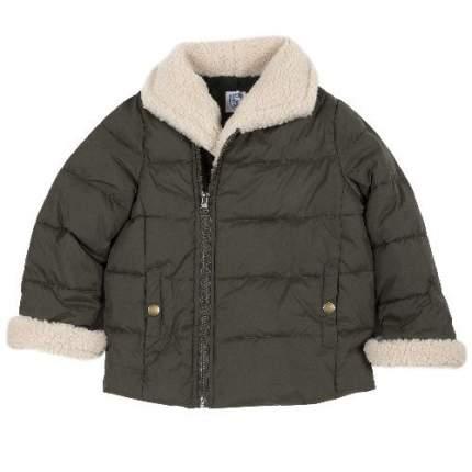 Куртка Chicco для мальчиков р.92 цв.темно-зеленый