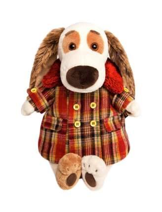 Мягкая игрушка «Бартоломей» в пальто в клетку, 27 см Басик и Ко