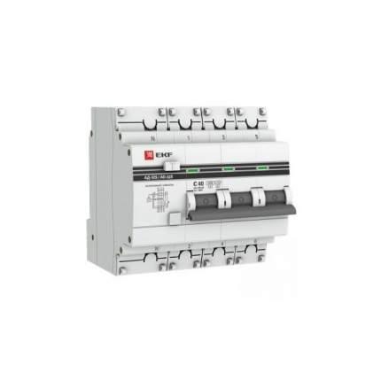 Дифавтоматы EKF DA32-32-100S-4P-pro