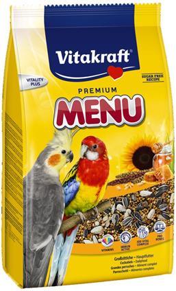 Основной корм Vitakraft MENU для средних попугаев 1000 г