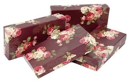 Набор коробок (цветочный принт)