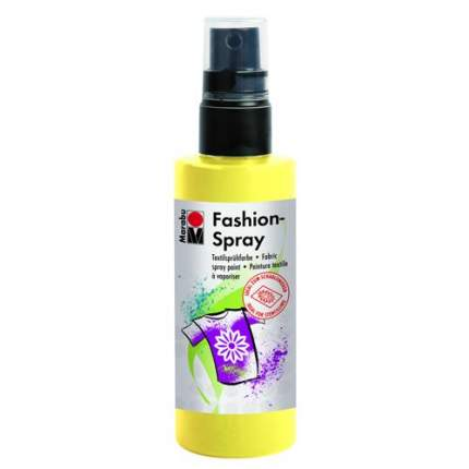 Краска-спрей для ткани Marabu Fashion Spray 171950020 Лимон, 100 мл