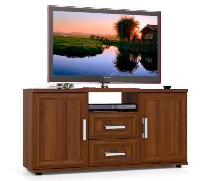 Тумба под телевизор приставная Мебельный Двор Бонус 120х36х60 см, орех