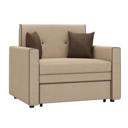 Кресло для гостиной Mobi Ника Найс 85 ТД 111, бежевый/коричневый