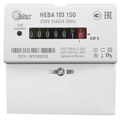 Счетчик электроэнергии НЕВА 103-5Din 1S0