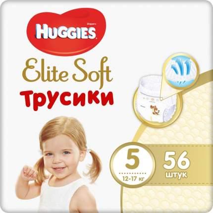 Трусики Huggies Elite Soft 5 (12-17кг) 56 шт.