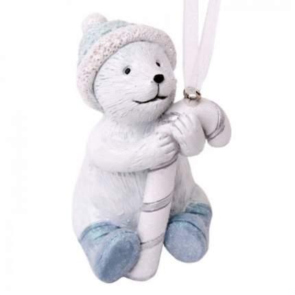 Елочная игрушка Феникс Present мишка, 4х4,5х7 см