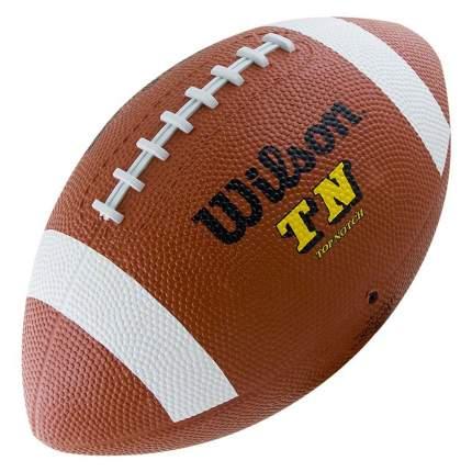 Мяч для американского футбола Wilson TN Official Ball, коричневый