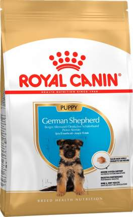 Сухой корм для щенков ROYAL CANIN Puppy German Shepherd, немейцкая овчарка, 12кг