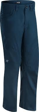 Брюки Arcteryx Cronin мужские темно-синие, размер 36