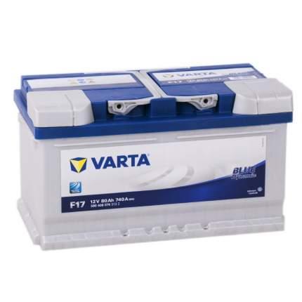Аккумулятор VARTA Blue F17 80R 740A 315x175x175 580406074
