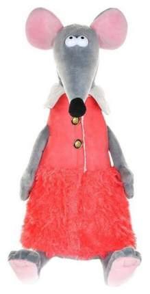 """Мягкая игрушка """"Крыска Лариска в красной жилетке"""", 23 см"""