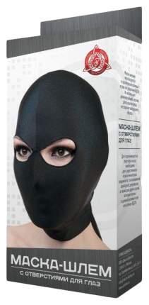 Маска-шлем МиФ с отверстием для глаз черная