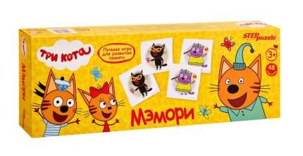 Настольная игра Step Puzzle Мэмори. Три кота