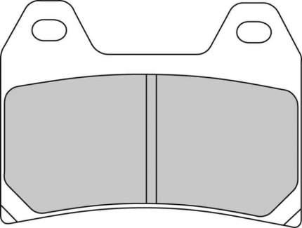 Тормозные колодки передние Ferodo FDB2042XRAC для мотоциклов