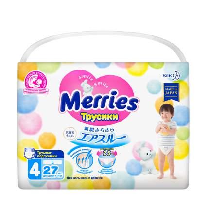 Подгузники-трусики Merries L 9-14 кг