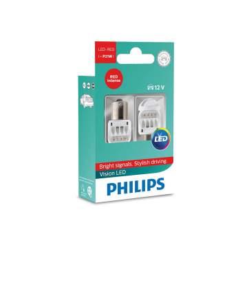 P21 12v Лампа Led Red X2 Philips арт. 12839REDX2
