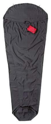 Вкладыш в спальник Cocoon Ripstop Silk Expedition Liner, Mumie черный 200X80/48 см