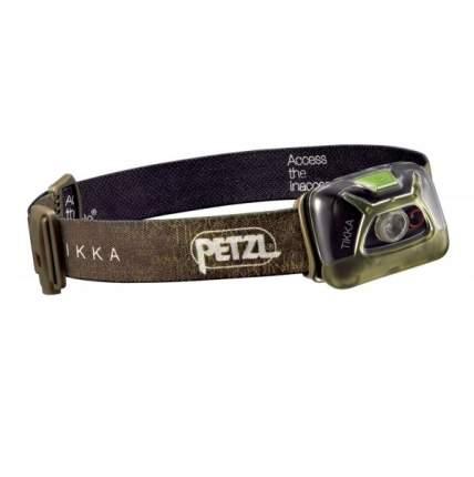 Туристический фонарь Petzl Tikka E93AAC зеленый, 5 режимов
