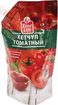 Кетчуп Fine Life томатный 300 г